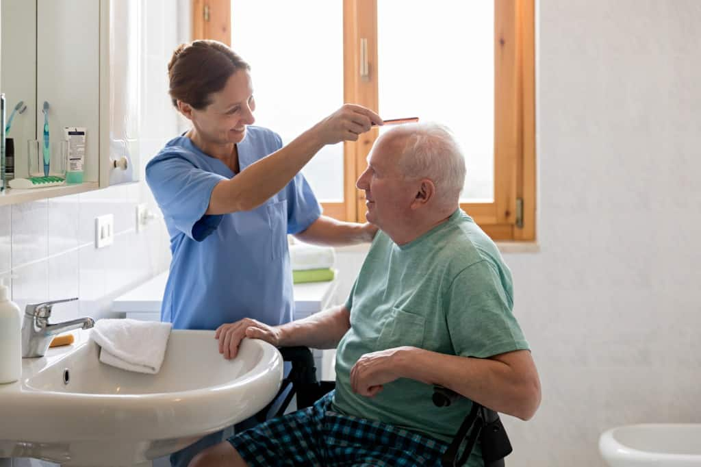 in home elderly support